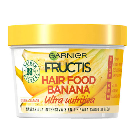 Mascarilla Fructis Hair Food Banana