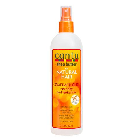 Spray para refrescar ondas y rizos Cantu